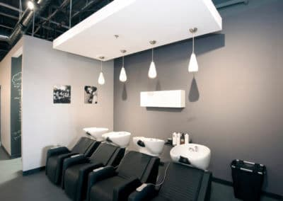 hair salon remodel