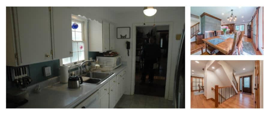 Dramatic Kitchen Makeover – White Hall Maryland