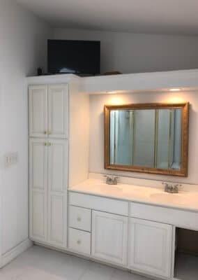 double vanity 2 before